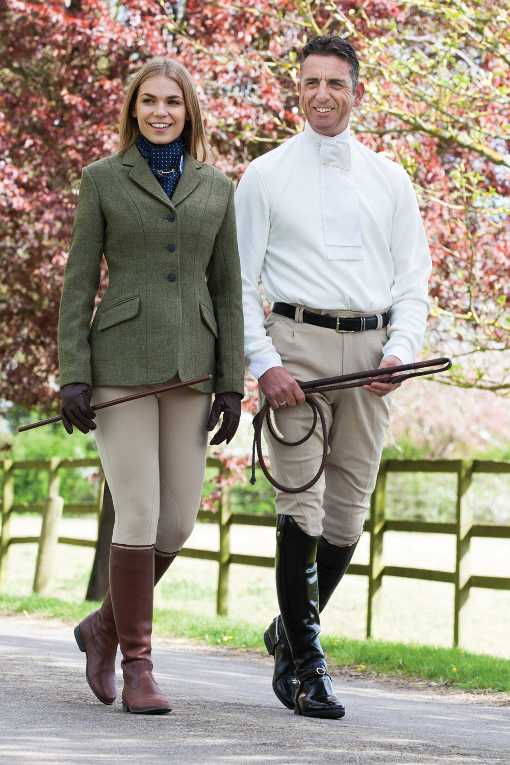 Mens Beige Foxhunter Breeches Hunting Mad