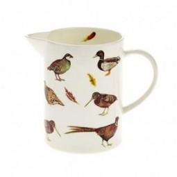 game birds jug