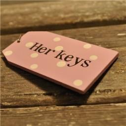 her keys