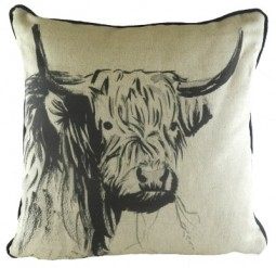 Inky Highland Cow