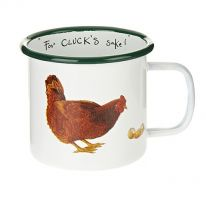 Chicken Enamel Mug