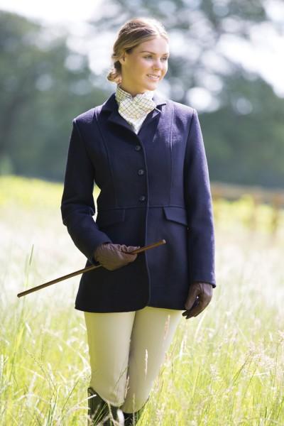 navy hunt coat