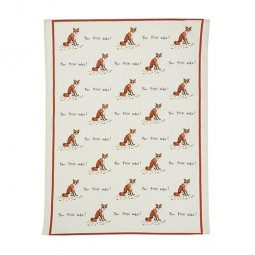 Fox Sake Tea Towel