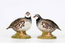 Red Legged Partridge Salt and Pepper