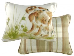 Country Hare Cushion