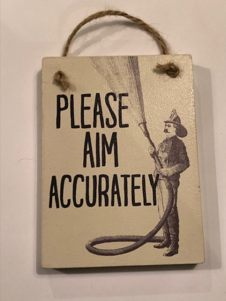 Aim Sign