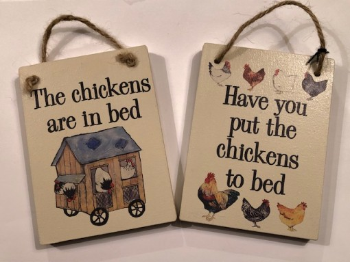 Chickens to bed new